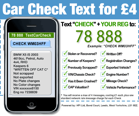 Text HPI Check